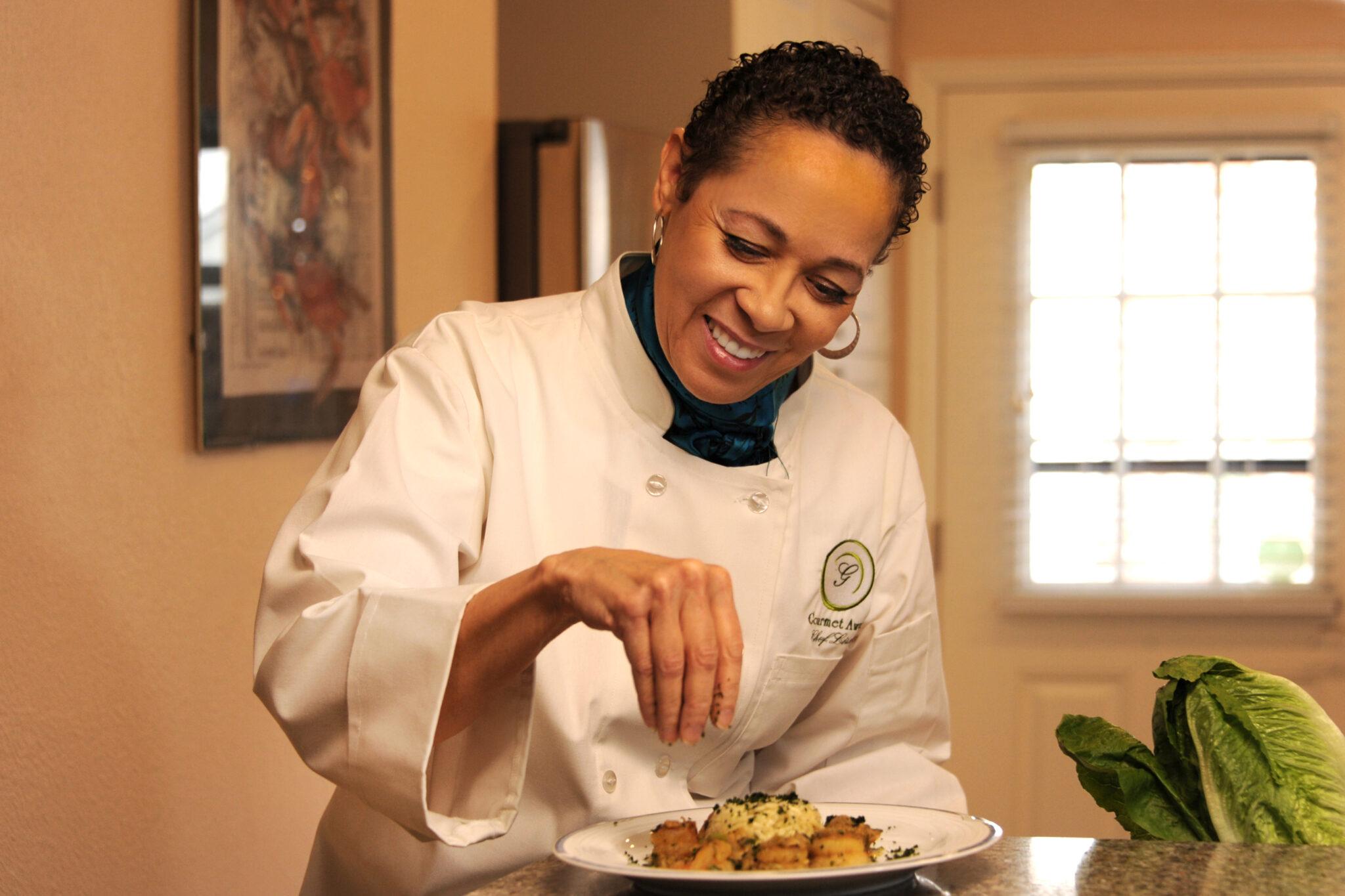 Chef Lisa Cooking